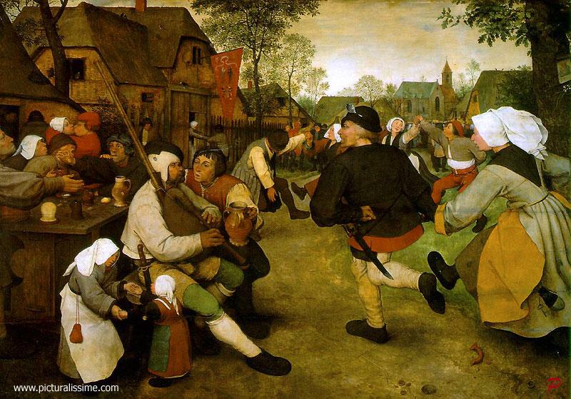 La danse des paysans