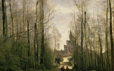 L'église de Marissel de Jean-Baptiste Corot